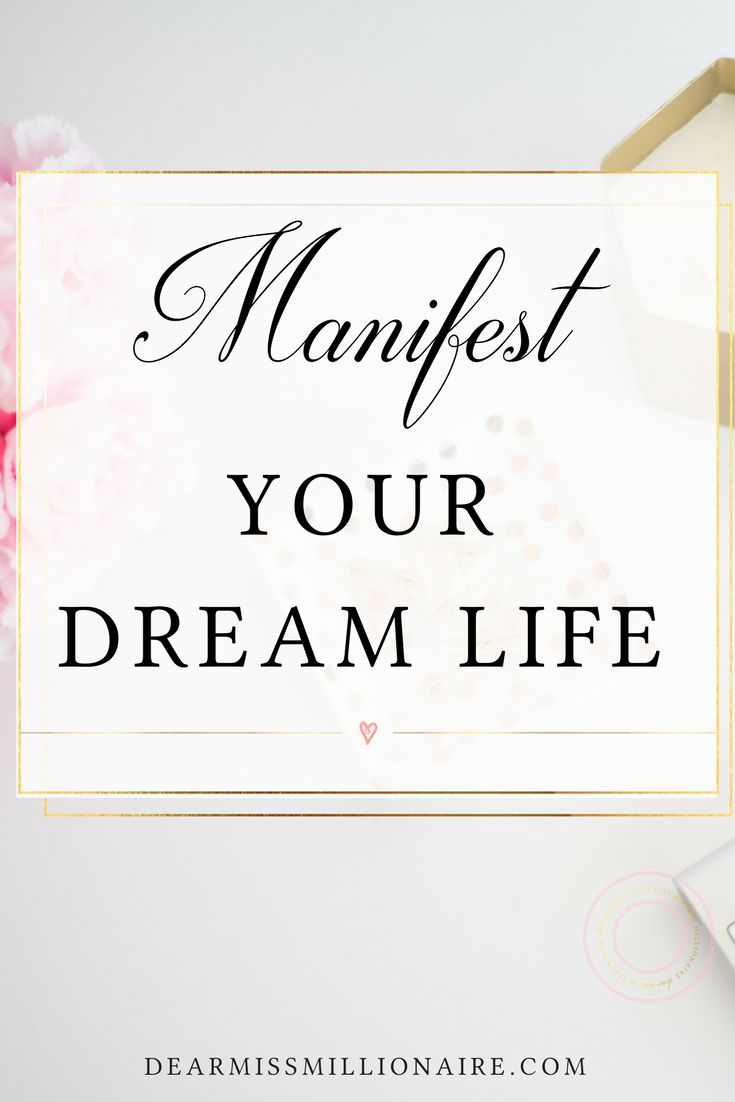 If you want to manifest your dream life, I have a little mindset shift to share with you today.