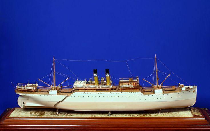 Ομοίωμα υπερωκεανίου, Ναυτικό Μουσείο της Ελλάδος - Αρχαιολογία Online