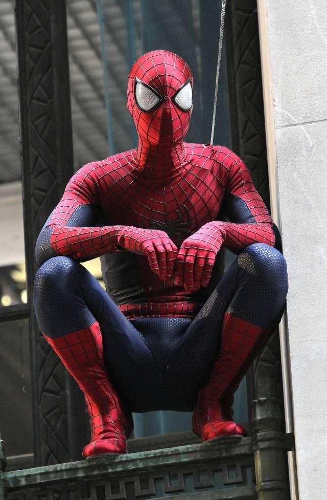 New spidey costume for Amazing Spider-Man 2, coming out May 2014....anyone else extremely excited? #favoritesuperhero