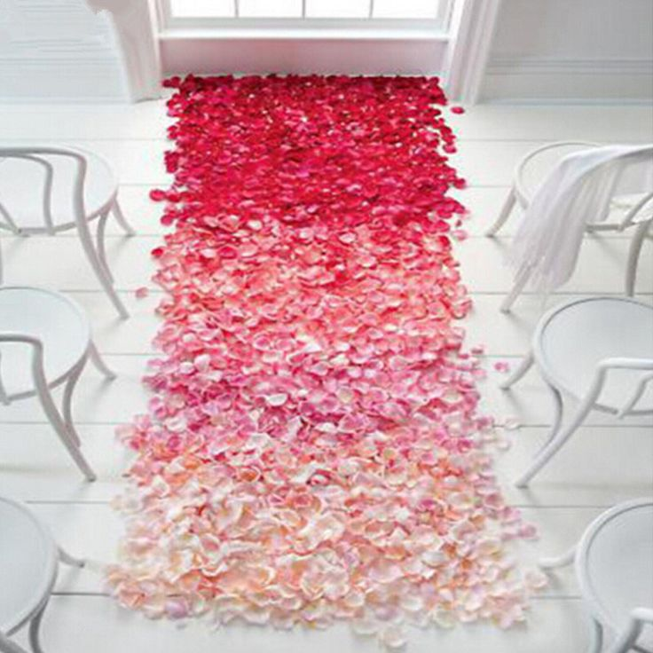 بتلات أعلى جودة 500 قطع الأوراق زخارف حزب مهرجان الزفاف الجدول النثار الديكور الحرير 16 ألوان زهرة البتلة