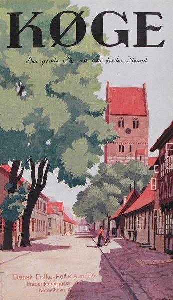 Syd for København ligger Køge med gamle bindingsværkshuse, et stort torv samt en smuk omegn.
