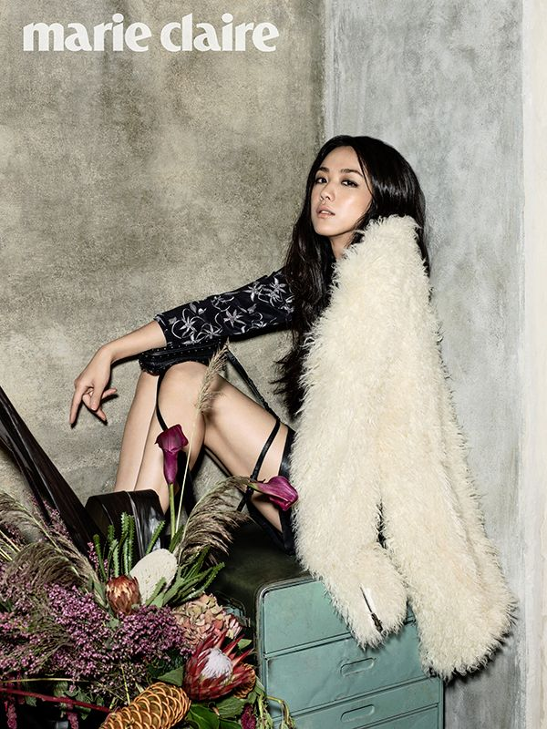 Tang Wei in Marie Claire Magazine
