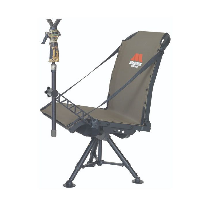 G100 Shooting Chair Millennium Outdoors Hunting Blinds Turkey Hunting Decor Hunting Chair
