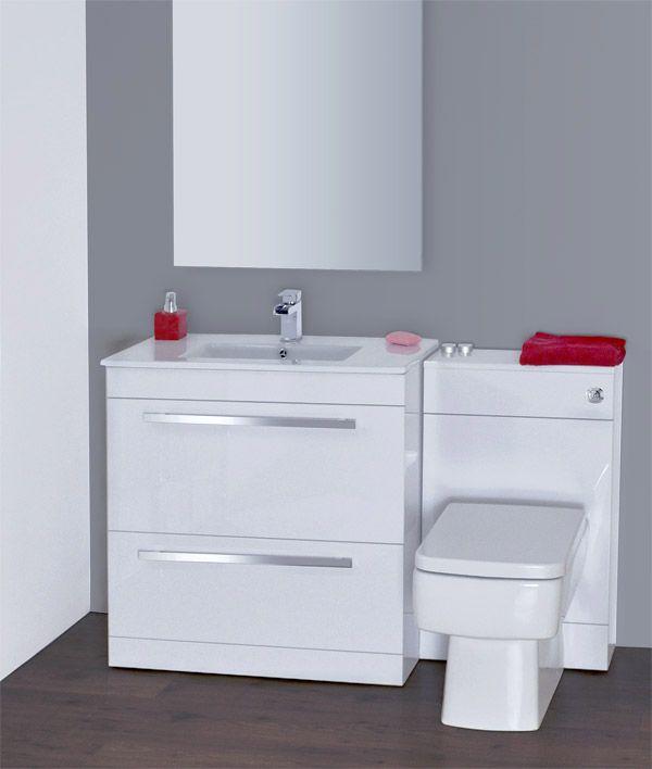 gloss gloss modular bathroom furniture collection vanity. perfect furniture nova high gloss white vanity bathroom suite  w1300 x d400200mm for modular furniture collection