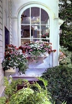 Depósito Santa Mariah: Flores Na Janela!