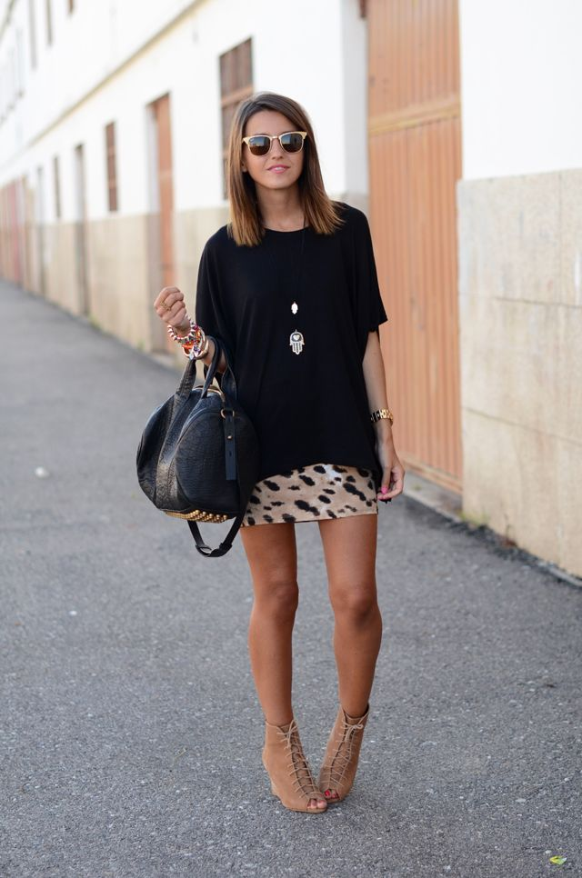 leopard skirt | Lovely Pepa
