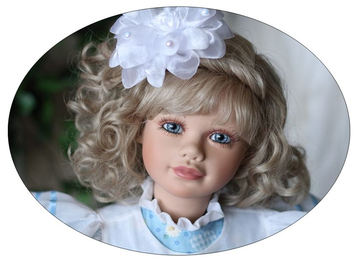 Девочка с глазами цвета океана от Virginia Turner. / Коллекционные куклы (винил) / Шопик. Продать купить куклу / Бэйбики. Куклы фото. Одежда для кукол