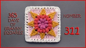 365 Days of Granny Squares Number 213 - YouTube