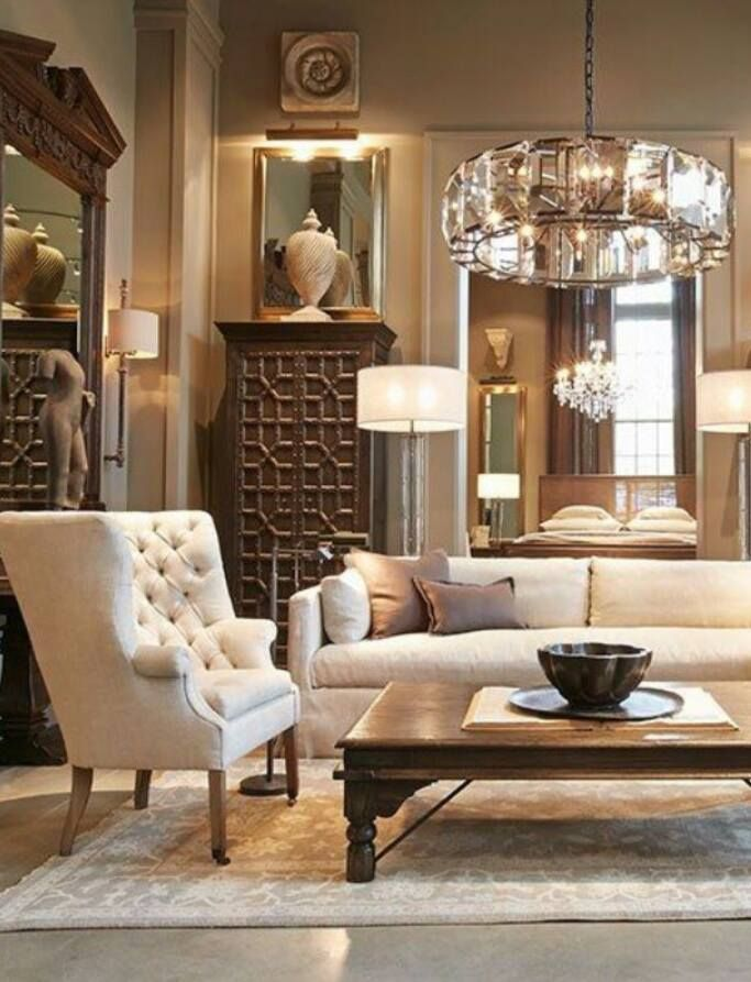 656 best images about restoration hardware on pinterest - Restoration hardware living room ideas ...