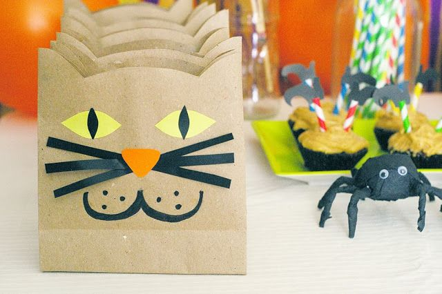 Halloween Cat Paperbags