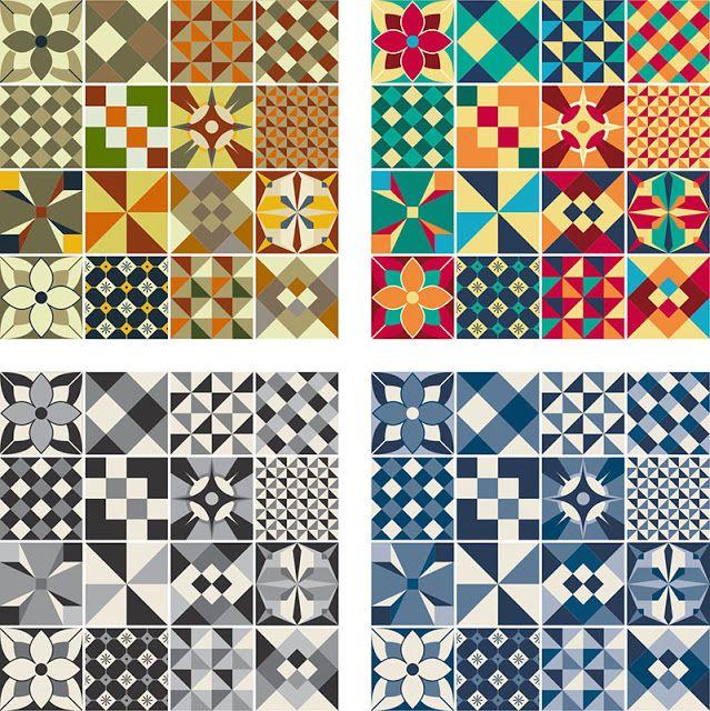 81 mejores im genes sobre azulejos hidraulicos en for Azulejo sobre azulejo