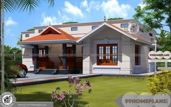 Classic Country House Plans With Single Story Fusion Style Home Designs House Design Pictures House Balcony Design Duplex House Design