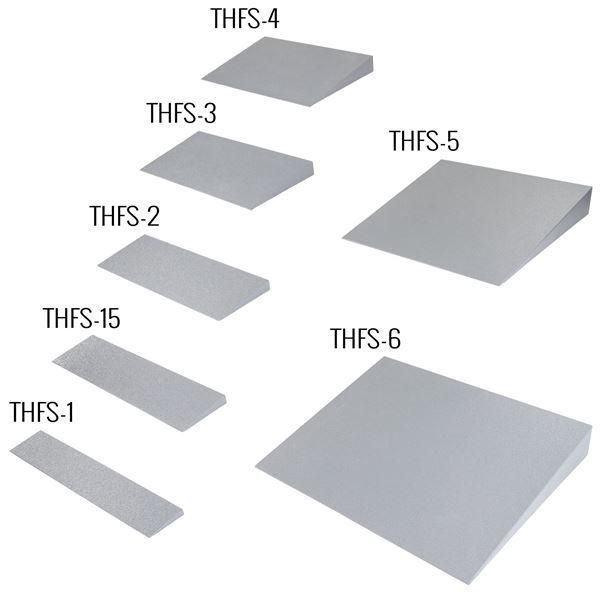 Silver Spring lightweight solid foam threshold ramp family