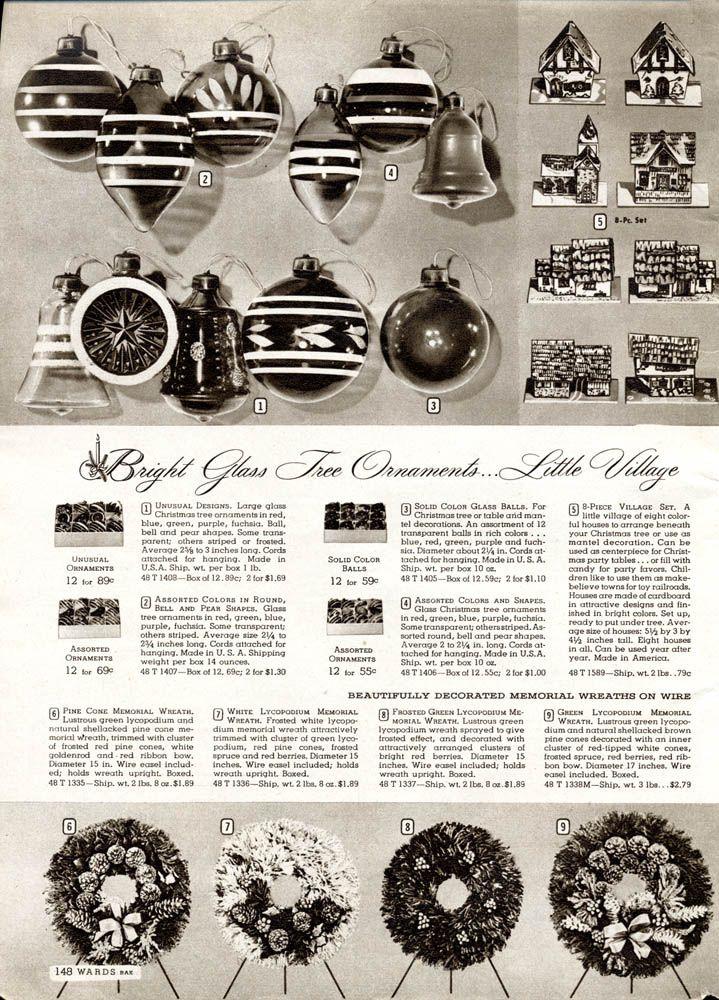 Wards  Christmas 1944: Vintage Christmas, Christmas Memories, Brite Ornaments, Christmas 1944, Christmas Catalog, Christmas Decor, Montgomery Ward, Christmas Crap, Ward Christmas