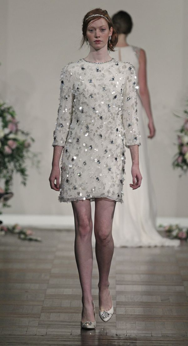 #JennyPackham Short #Wedding Dress - Principessa