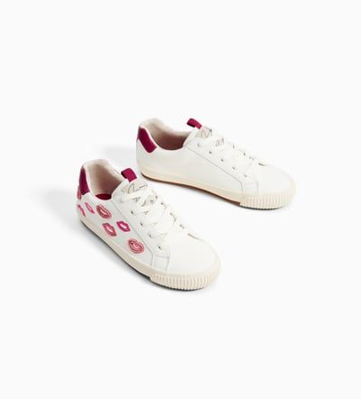 EMBROIDERED PLIMSOLLS-SHOES-GIRL | 5 - 14 years-KIDS-NEW COLLECTION | ZARA United Kingdom