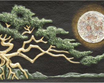 Keltische levensboom 26 x 36 geweven tapijt  Ierse