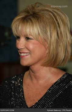 joan lunden's short blonde hairstyles from the 1980 - Google Search