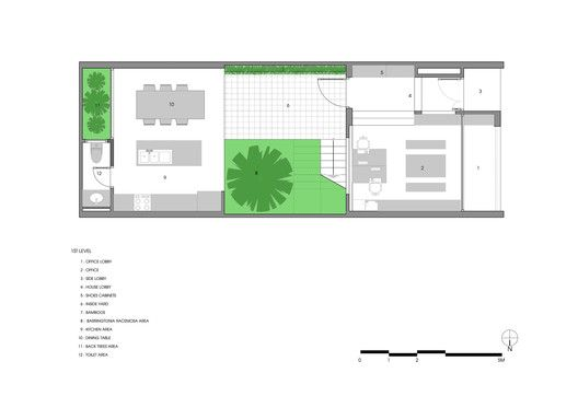 B House,Floor Plan