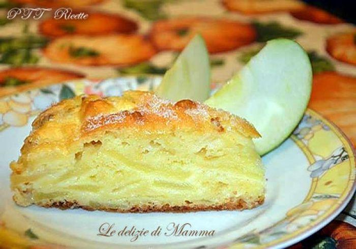 Torta di mele senza burro e senza olio | Ricetta