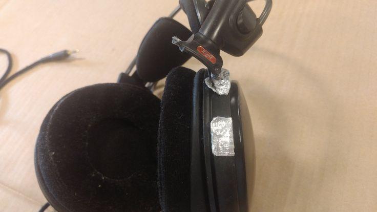 Fibreglass Headphone Repair (#QuickCrafter)