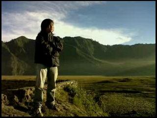 savana Mt. Bromo, east Java, Indonesia