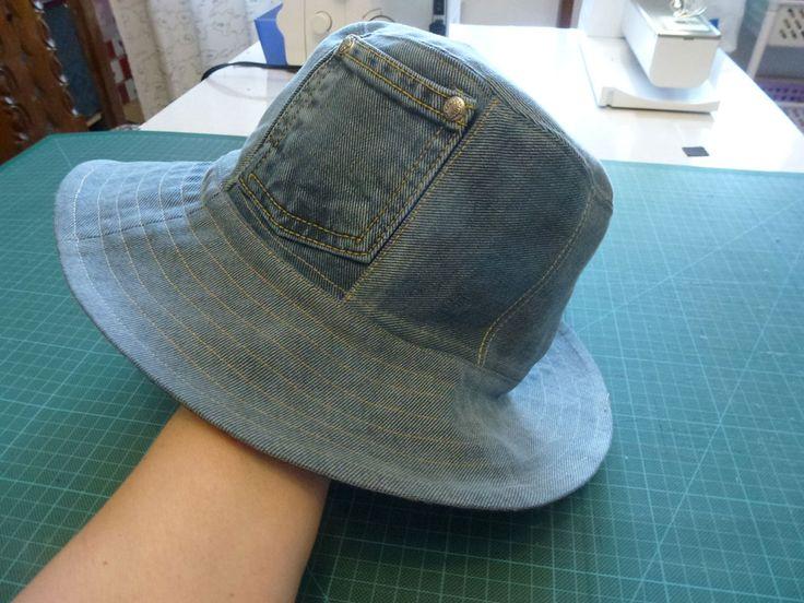 шапка-панама для мужа