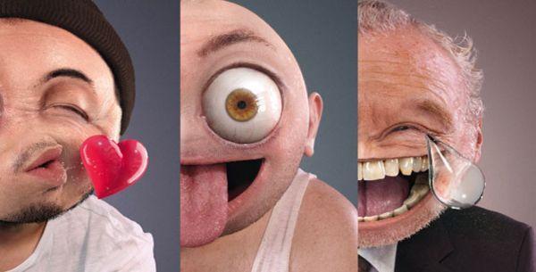 Рекламная компания, направленная против роста интернет-зависимости среди детей. (4 фото)