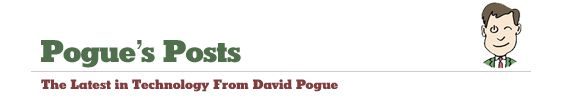 Pogue's Posts - The Latest in Technology From David Pogue -~some REALLY great air traveling tips from one of the coolest.