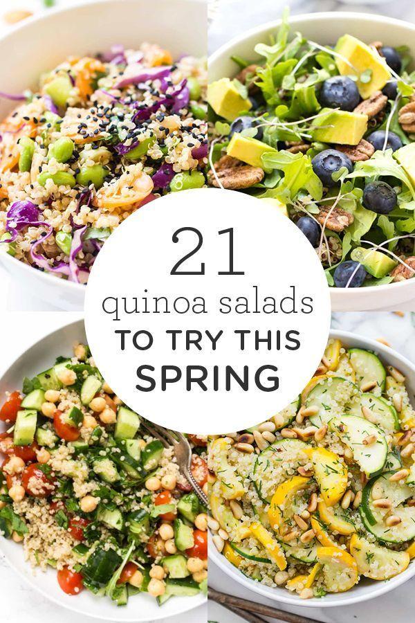 21 Quinoa Salad Recipes To Try This Spring Quinoa Salad Recipes