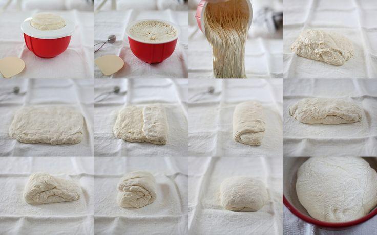 No-knead bread / Paine neframantata