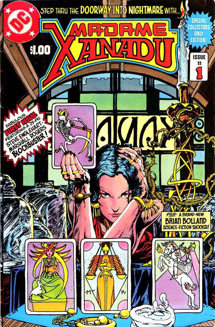Madame Xanadu #1, Michael Kaluta Cover Art.
