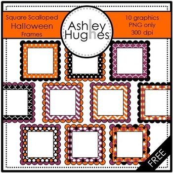 Here's a set of Halloween frames for creating your own instructional resources.