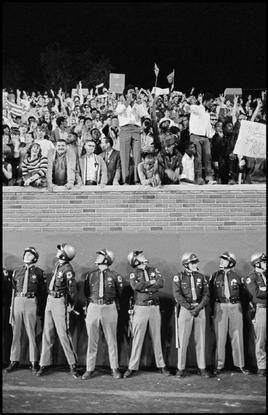 Magnum Photos Photographer Portfolio - USA. 1968. Michigan. George Wallace presidential campaign rally. -  Hiroji Kubota