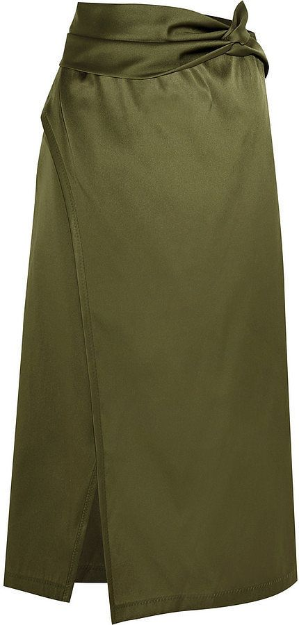 3.1 Phillip Lim Wrap-Effect Satin Skirt ($495)