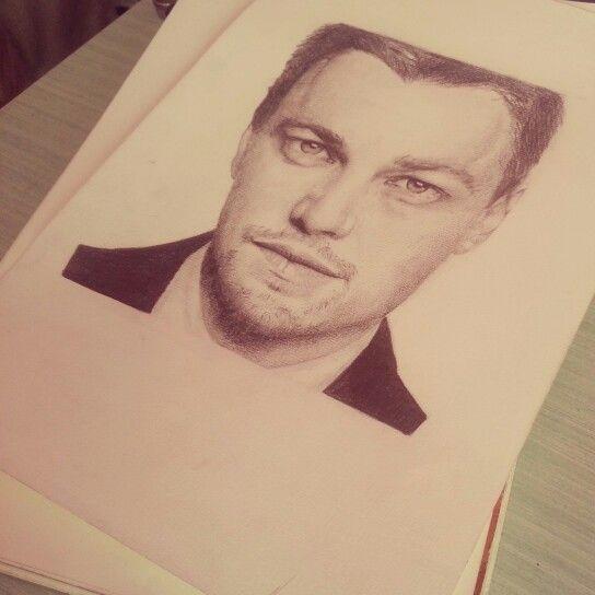 #LeonardoDiCaprio #Portrait #Pencils