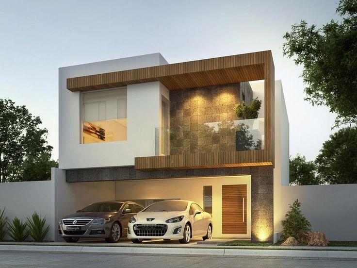 Las 25 mejores ideas sobre ventanas de aluminio blanco en for Casas modernas fotos exteriores