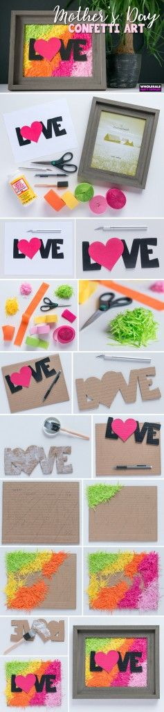 It's almost Mother's Day! Get your #DIY on with this awesome craft that'll make any mom smile. It's easy to make and fun to give, and Wholesale Party Supplies wants you to be able to put a smile on mom's face!