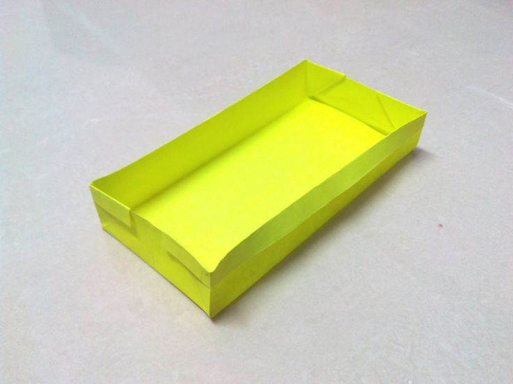 How to make a rectangular origami box. *** | Origami Boxes ...