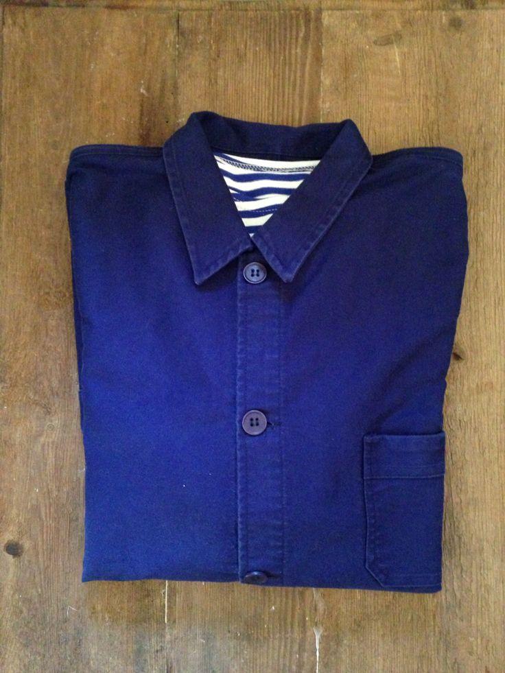 Le Mount Saint Michel jakke med sømandstrøje #lemountstmichel #workwear #frenchworkwear #tibberuphoekeren #helsingør