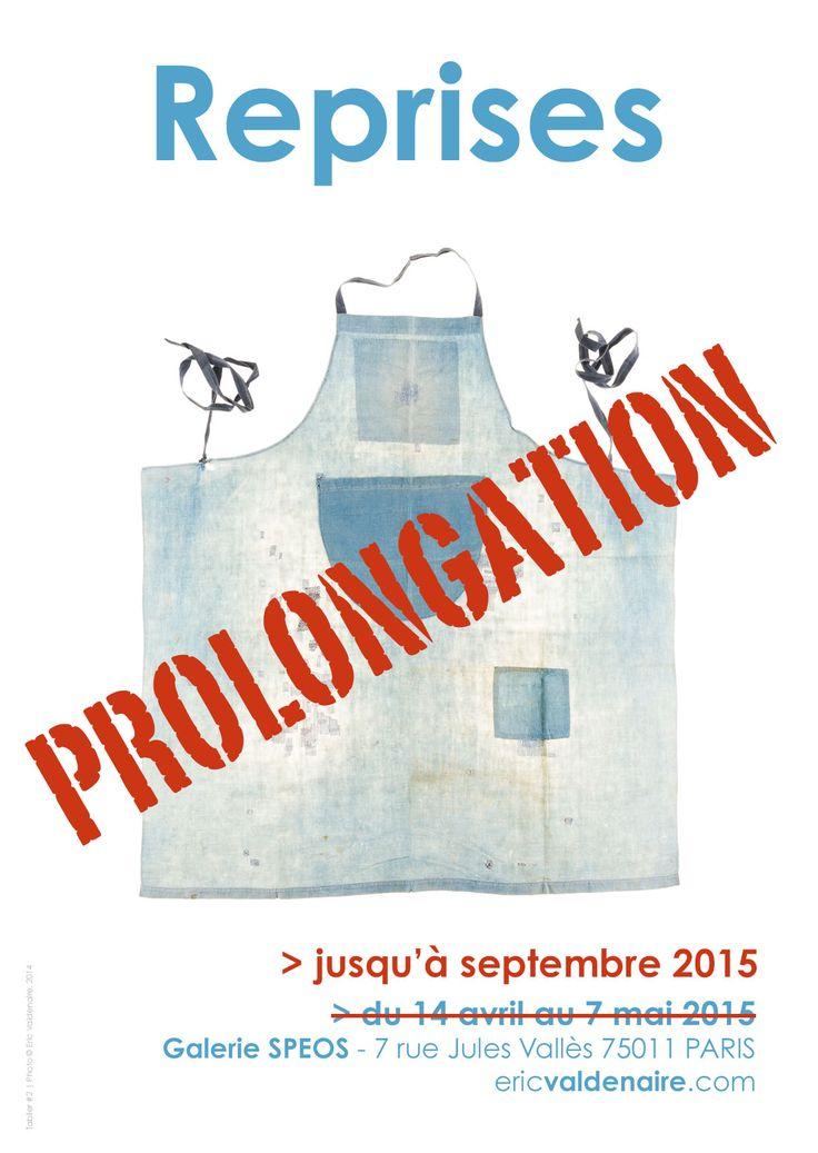 "Prolongation of the exhibition ""Reprises"" at the SPEOS gallery, 7 rue Jules Vallès 75011 PARIS. Photo © Eric Valdenaire http://ericvaldenaire.com"