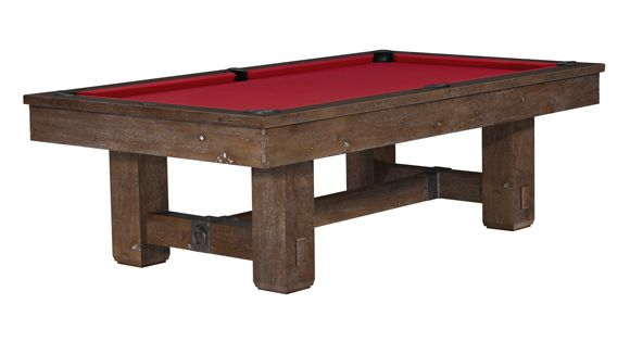 Brunswick billiards Merrimack 9ft regulation pool table. Would be great to have in a rustic cabin!