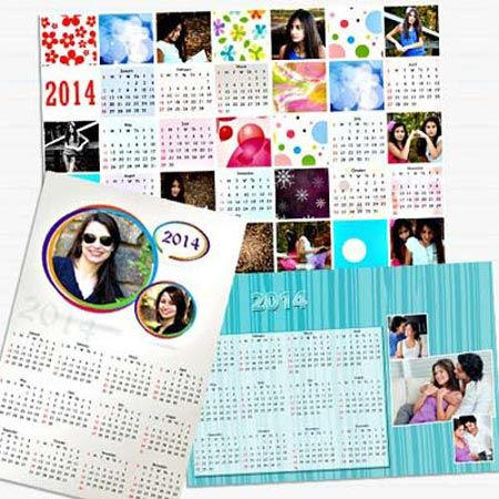 Personalized Calander Gifts @Bookmyflowers.com