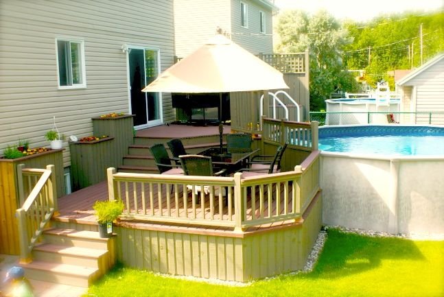 patio piscine plan - Recherche Google