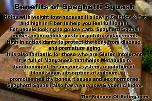 Benefits of Spaghetti Squash