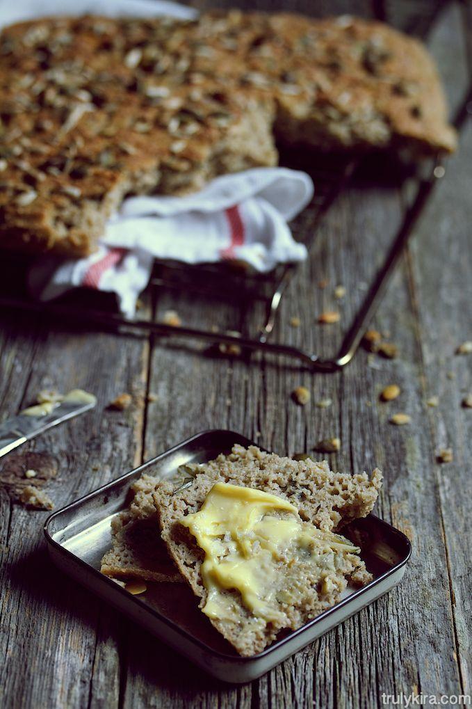 Truly Kira: Gluteeniton leipä - Glutenfritt bröd