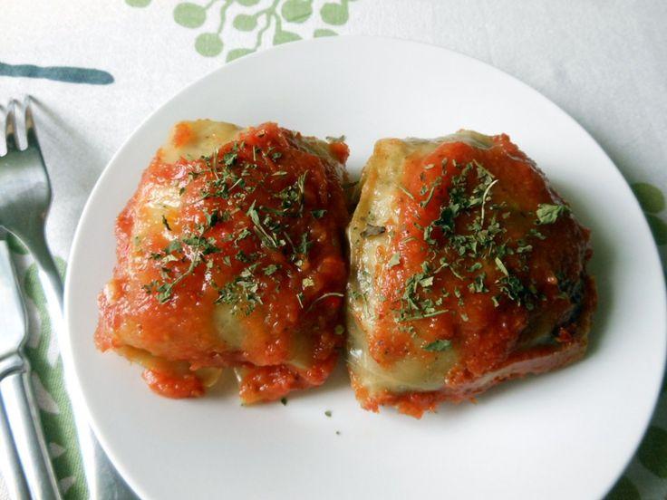 Przepis na tradycyjne gołąbki w zdrowszej i bezmięsnej odsłonie- z ryżem i pieczarkami