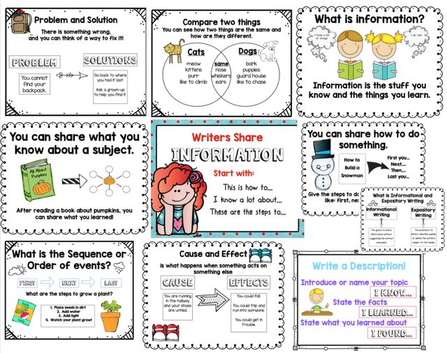 Expository Writing First Grade Expository Writing First Grade: Expository…