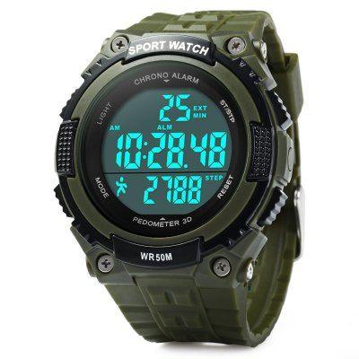 Skmei 1112 3D Pedometer Digital Watch