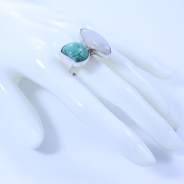 Turquoise is one of the oldest known gemstones to be treasured by mankind, coveted as a sacred stone in Egypt for more than 7,500 years. Its name originating from the French for 'Turkey', due to its historic trade in turquoise.